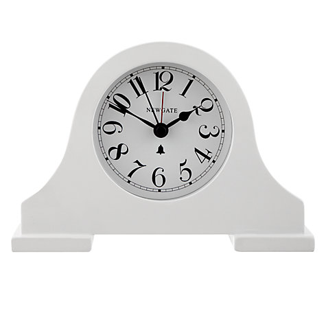 Buy Newgate Bedside Alarm Clock, Cream Online at johnlewis.com