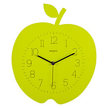 Buy Diamantini & Domeniconi Apple Wall Clock, Green Online at johnlewis.com