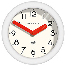Buy Newgate Pantry Wall Clock, Dia.22.5cm, White Online at johnlewis.com