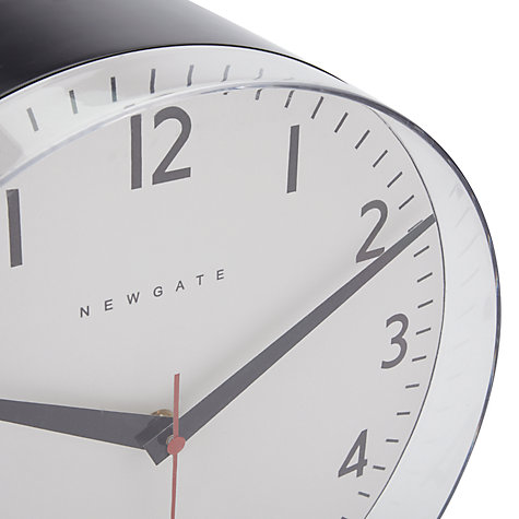 Buy Newgate Pill Wall Clock, Black Online at johnlewis.com