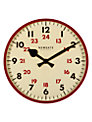 Newgate Putney Wall Clock, Red