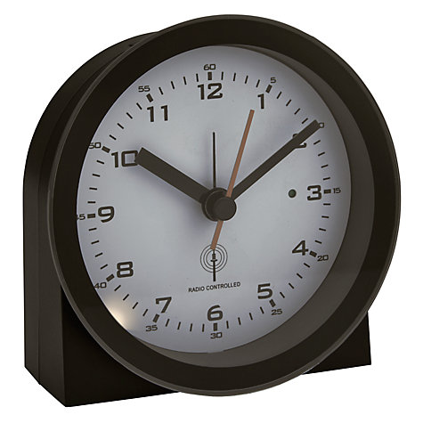 Buy Acctim Radio Controlled Round Alarm Clock Online at johnlewis.com