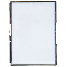 "Buy Nkuku Danta Photo Frame, Antique Zinc, 5 x 7"" (13 x 18cm) Online at johnlewis.com"