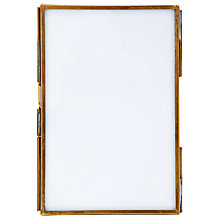 "Buy Nkuku Danta Photo Frame, Antique Brass, 4 x 6"" (10 x 15cm) Online at johnlewis.com"