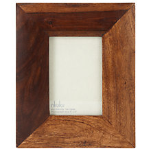 "Buy Nkuku Sheesham Wood Photo Frame, 4 x 6"" (10 x 15cm) Online at johnlewis.com"
