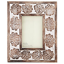 "Buy Nkuku Organdi Wood Photo Frame, 4 x 6"" (10 x 15cm) Online at johnlewis.com"