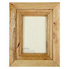 "Buy Nkuku Mango Wood Photo Frame, 4 x 6"" (10 x 15cm) Online at johnlewis.com"