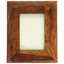 "Buy Nkuku Sheesham Wood Photo Frame, 5 x 7"" (13 x 18cm) Online at johnlewis.com"