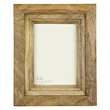 "Buy Nkuku Mango Wood Photo Frame, 5 x 7"" (13 x 18cm) Online at johnlewis.com"