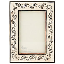 "Buy Nkuku Garland Photo Frame, 4 x 6"" (10 x 15cm) Online at johnlewis.com"