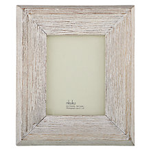 "Buy Nkuku Mahi Wood Photo Frame, 6 x 8"" (15 x 20cm) Online at johnlewis.com"