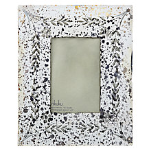 "Buy Nkuku Antique Mirror Photo Frame, 4 x 6"" (10 x 15cm) Online at johnlewis.com"