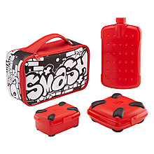 Buy Smash Colour Up Graffiti Lunch Bag Online at johnlewis.com