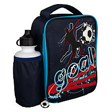 Buy Speakmark Football Lunch Bag and Drinks Bottle Online at johnlewis.com