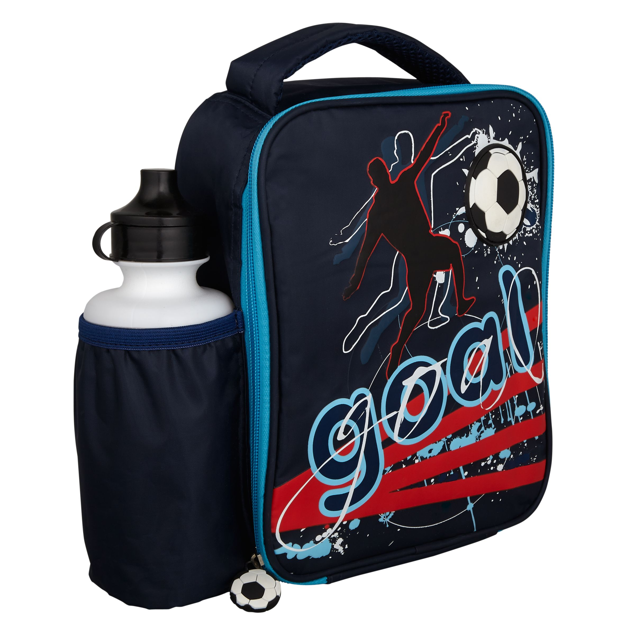 Speakmark Football Lunch Bag and Drinks Bottle