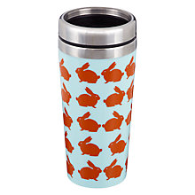 Buy Anorak Kissing Rabbits Commuter Mug Online at johnlewis.com