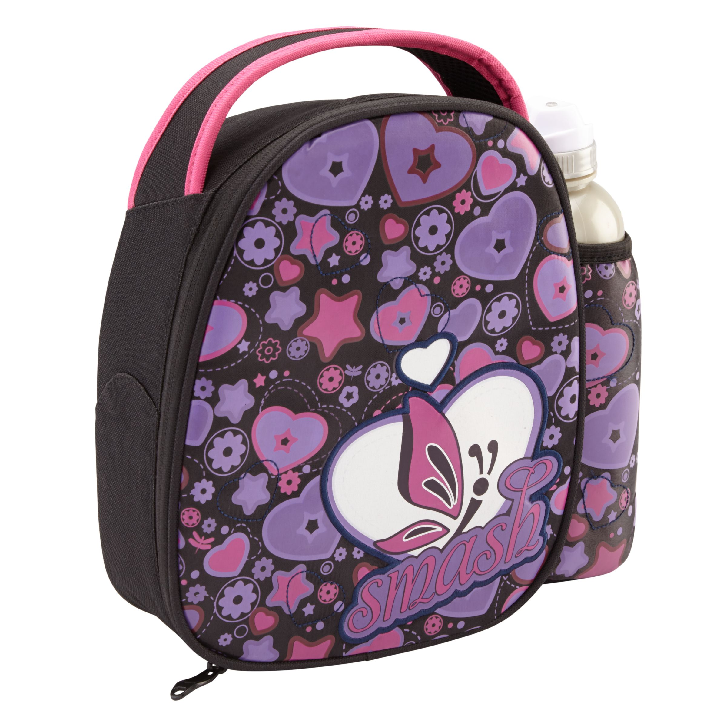 Smash Blush Lunch Bag and Water Bottle