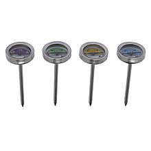Buy John Lewis BBQ Meat Thermometers, Set of 4 Online at johnlewis.com