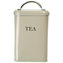 Buy Garden Trading Tea Canister, Clay Online at johnlewis.com