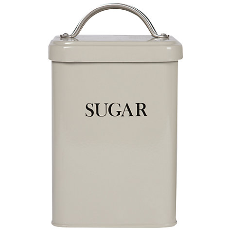 Buy Garden Trading Sugar Canister, Clay Online at johnlewis.com