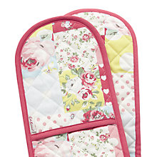 Buy Cath Kidston Patchwork Double Oven Glove Online at johnlewis.com