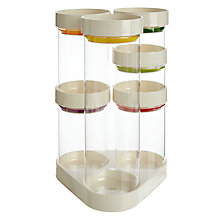 Buy Joseph Joseph Food Storage Carousel, White Online at johnlewis.com
