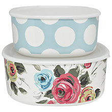 Buy Cath Kidston Rectangular Storage Boxes, Set of 2 Online at johnlewis.com