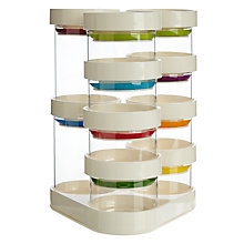 Buy Joseph and Joseph Spice Carousel, White Online at johnlewis.com
