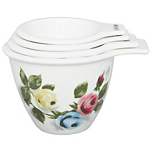 Buy Cath Kidston Painterly Rose Ceramic Measuring Cups Online at johnlewis.com