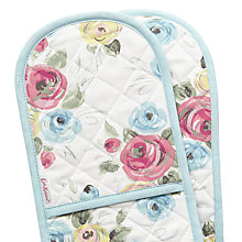 Buy Cath Kidston Painterly Rose Double Oven Glove Online at johnlewis.com