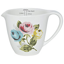 Buy Cath Kidston Painterly Rose Ceramic Measuring Jug Online at johnlewis.com