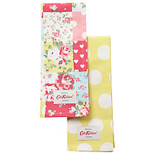 Buy Cath Kidston Patchwork and Big Spot Tea Towels, Set of 2 Online at johnlewis.com