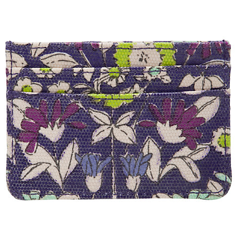 Buy John Lewis Daisychain Print Card Holder, Magenta Online at johnlewis.com