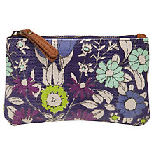 Buy John Lewis Daisychain Print Coin Purse, Magenta Online at johnlewis.com