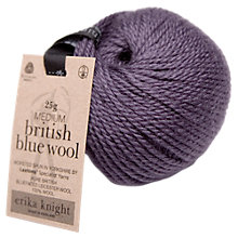 Buy Erika Knight British Blue Wool, 25g Online at johnlewis.com
