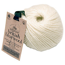 Buy Erika Knight British Blue Wool DK Yarn, 25g Online at johnlewis.com