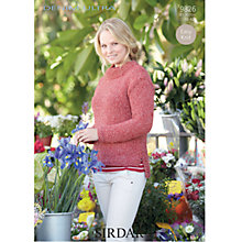 Buy Sirdar Denim Ultra Knitting Leaflet, 9826 Online at johnlewis.com