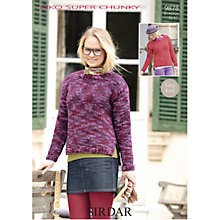 Buy Sirdar Kiko Super Chunky Knitting Leaflet, 9878 Online at johnlewis.com