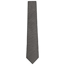Buy Reiss Riki Chain Print Tie, Black Online at johnlewis.com