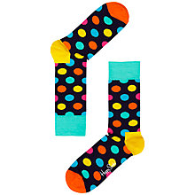 Buy Happy Socks Big Dot Socks Online at johnlewis.com