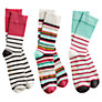Buy Joules Sox for a Fox Ankle Socks, Pack of 3 Online at johnlewis.com