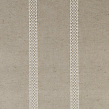 Buy Ian Mankin Hopsack Stripe Fabric, Natural Online at johnlewis.com