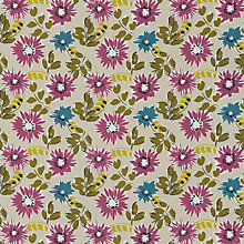 Buy John Lewis Antibes Fabric, Putty Online at johnlewis.com