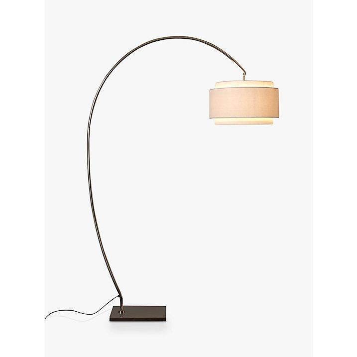 John Lewis Evie Curve Floor Lamp Ebay