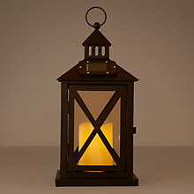 Buy John Lewis Hartford Outdoor Lantern, Small Online at johnlewis.com