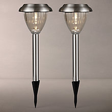 Buy John Lewis Bahia Outdoor Stake Lights, Pack of 2 Online at johnlewis.com