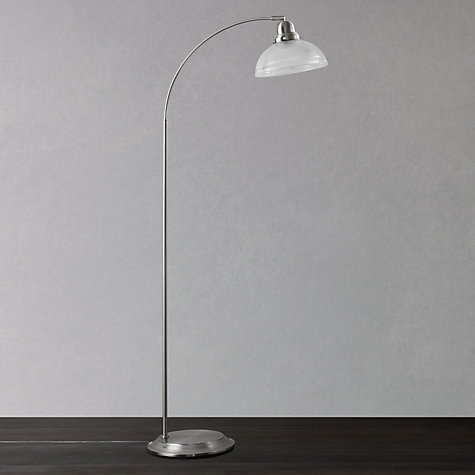 Buy John Lewis George Ribbed Glass Floor Lamp Online at johnlewis.com