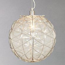 Buy John Lewis Filey Scribble Pendant, Small Online at johnlewis.com