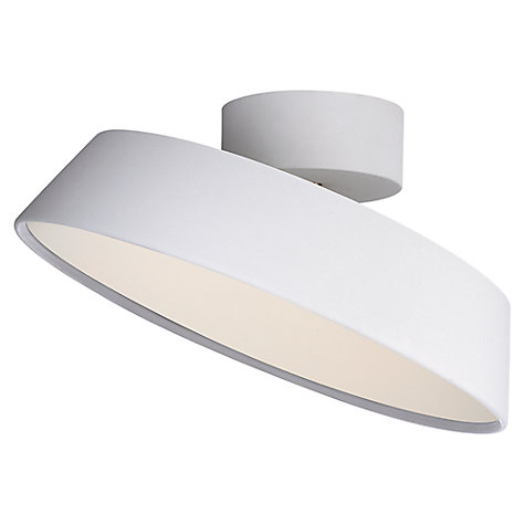 Buy Nordlux Alba LED Adjustable Tilt Semi-flush Ceiling Light Online at johnlewis.com