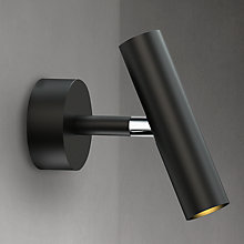 Buy Nordlux MIB 3 Single LED Wall Spotlight, Black Online at johnlewis.com